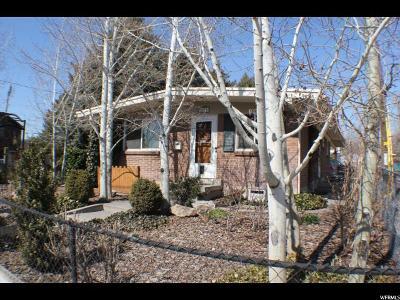 Salt Lake City Single Family Home For Sale: 1111 E 1300 S