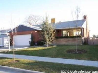 Salt Lake County Single Family Home For Sale: 614 E Eleventh Ave