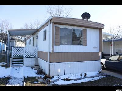 Salt Lake County Single Family Home For Sale: 1145 W Barberry Dr #128