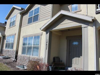 Salt Lake County Townhouse For Sale: 14637 S Auroral Way W #1-5