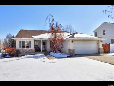 West Jordan Single Family Home For Sale: 8451 S Silo Dr