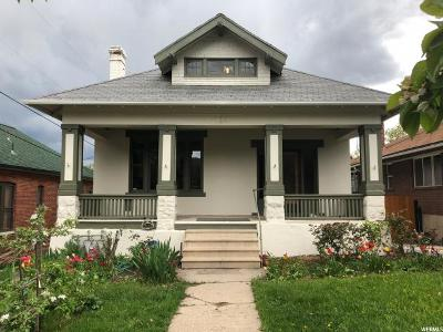 Salt Lake City Multi Family Home For Sale: 223 N K St