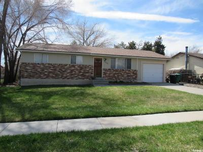 West Jordan Single Family Home For Sale: 3735 W Fairmount Cir S