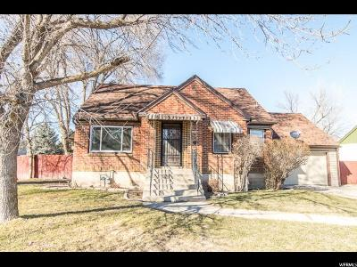 Logan Single Family Home For Sale: 455 W 500 N
