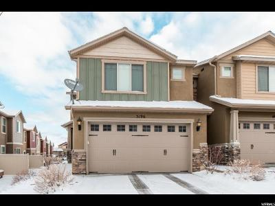 Herriman Townhouse For Sale: 5196 W Fortrose Dr