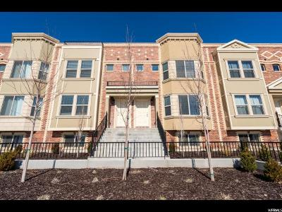Spanish Fork Townhouse For Sale: 303 W Park View Ln