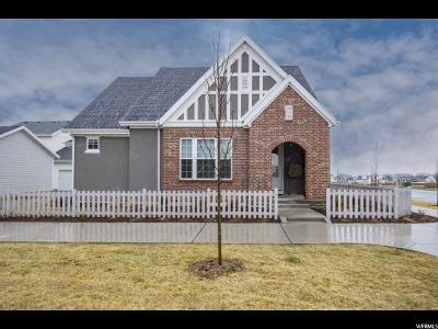 South Jordan Single Family Home For Sale: 5187 W Dock St S