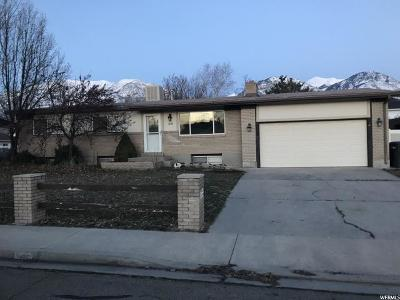 Provo UT Single Family Home For Sale: $339,900