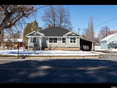 Smithfield Single Family Home For Sale: 169 E Center