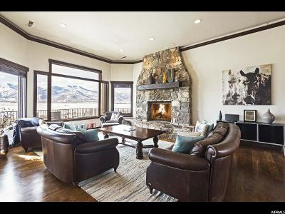 Park City Single Family Home For Sale: 6090 Old Ranch Rd