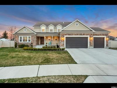 South Jordan Single Family Home For Sale: 3318 W Copper Point Ct S