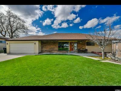 Salt Lake City Single Family Home For Sale: 4410 S Loren Von Dr. E
