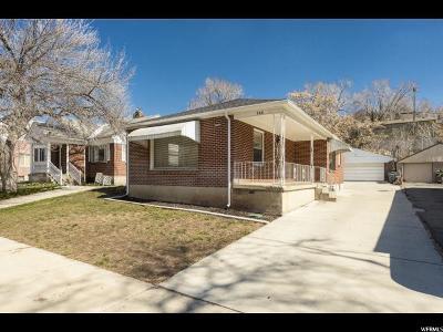 Salt Lake City Single Family Home For Sale: 340 N 200 W