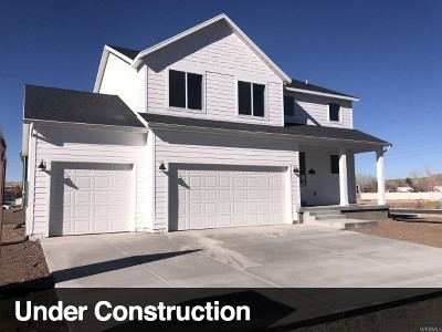 South Weber Single Family Home For Sale: 1324 E Canyon Dr #1