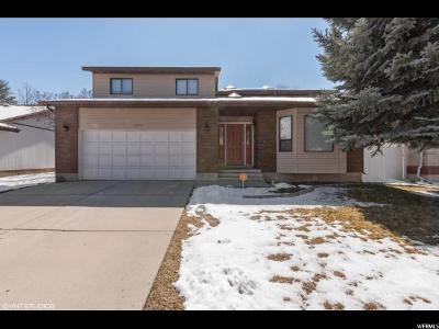 Salt Lake City Single Family Home For Sale: 1384 E Heatherton Cir