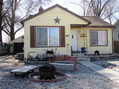 Salt Lake City Single Family Home For Sale: 1457 W 700 S