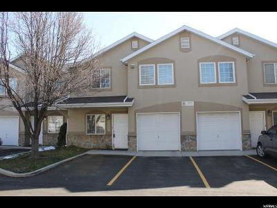 West Jordan Townhouse For Sale: 7093 S Sextant Ln #c Ln W #10/C