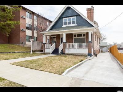 Salt Lake City Single Family Home For Sale: 253 W 600 N