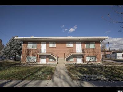 Salt Lake City Multi Family Home For Sale: 415 E 3400 S
