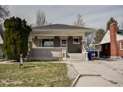 Salt Lake City Single Family Home For Sale: 1412 S 500 E