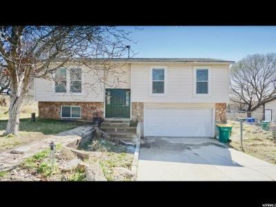Orem Single Family Home For Sale: 1093 W 600 N