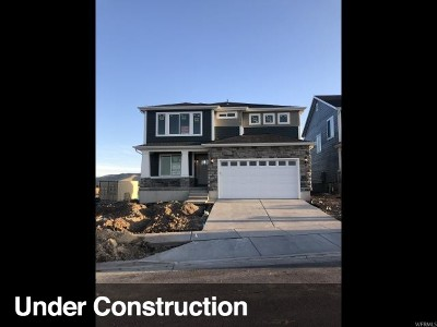 Herriman Single Family Home For Sale: 6649 W Indigo Dr #601