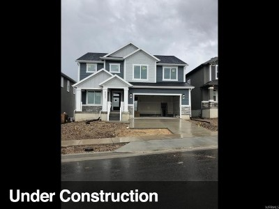 Herriman Single Family Home For Sale: 6657 W Indigo Dr #602
