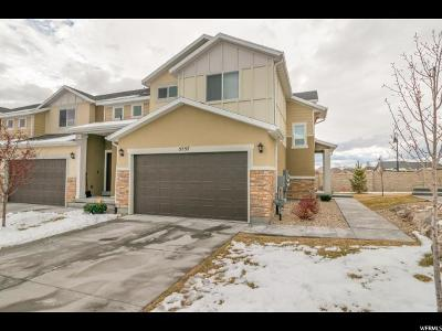 Herriman Townhouse For Sale: 5557 W Rokeby Ln