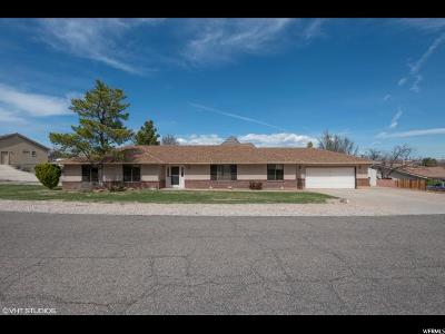 St. George Single Family Home For Sale: 765 Pintura Drive