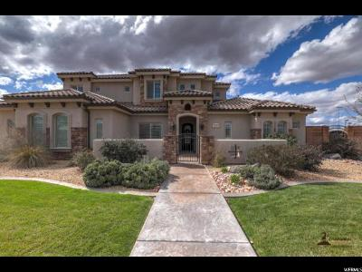 St. George Single Family Home For Sale: 3232 S 2240 E