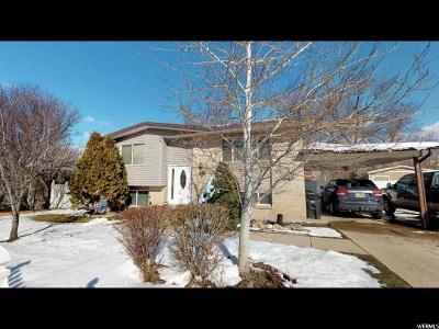 West Jordan Single Family Home For Sale: 7817 S 3725 W
