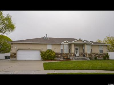 South Jordan Single Family Home For Sale: 10395 S Whispering Sands Cir W