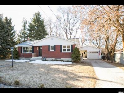 Hyde Park Single Family Home For Sale: 164 E 200 S
