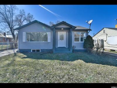 Ogden UT Single Family Home For Sale: $235,000