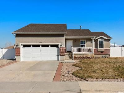 Spanish Fork Single Family Home For Sale: 3153 E Canyon Crest Dr