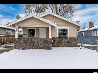 Salt Lake City Single Family Home For Sale: 266 E Hollywood Ave