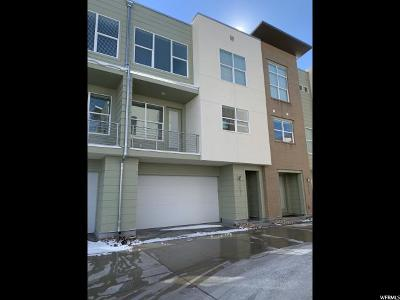 South Jordan Townhouse For Sale: 1657 W Kyson Rd