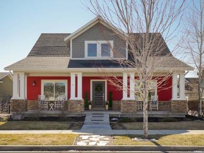 South Jordan Single Family Home For Sale: 4873 W Wexford Way