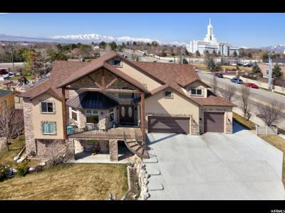 American Fork Single Family Home For Sale: 695 N 1170 Cir E