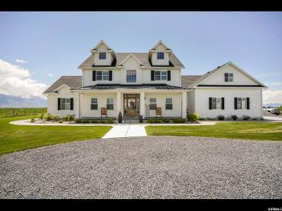 Single Family Home For Sale: 5145 W 2400 N