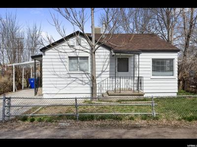Salt Lake City Single Family Home For Sale: 123 E 3350 S