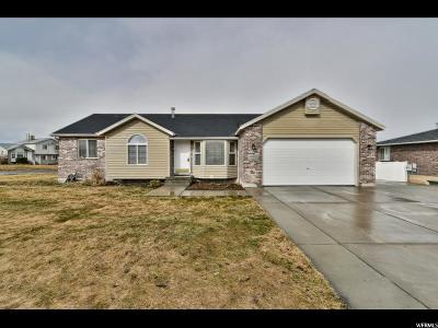West Jordan Single Family Home For Sale: 4992 W Shayn Hill Dr S