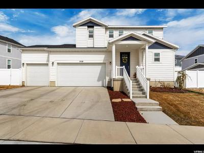 West Jordan Single Family Home For Sale: 6528 W Thistle Ridge Cv S #1057