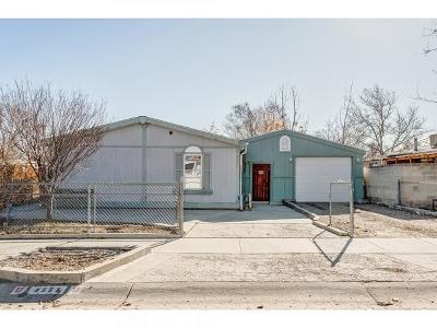 West Jordan UT Single Family Home For Sale: $215,000
