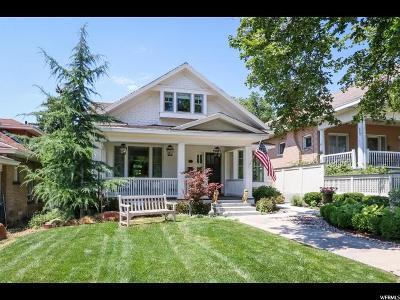 Salt Lake City Single Family Home For Sale: 383 N G St