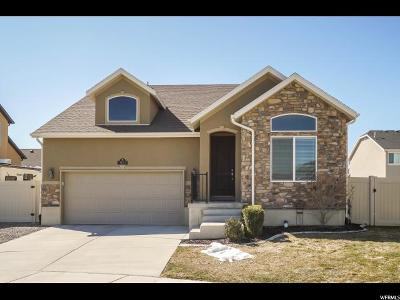 South Jordan Single Family Home For Sale: 3653 Snowfield Ct W