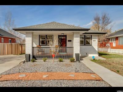 Salt Lake City Single Family Home For Sale: 1884 S 600 E