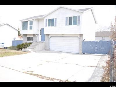 West Valley City Single Family Home For Sale: 3911 S 6285 W