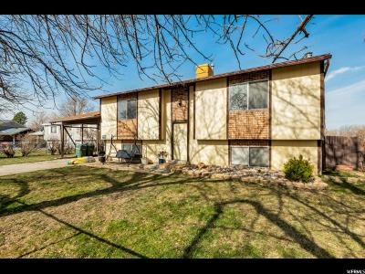 West Valley City Single Family Home For Sale: 4192 S Braewood Pl W