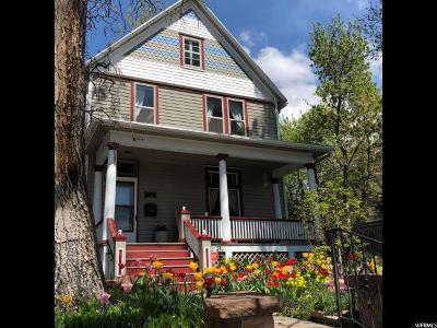Salt Lake City Single Family Home For Sale: 971 E 3rd Ave